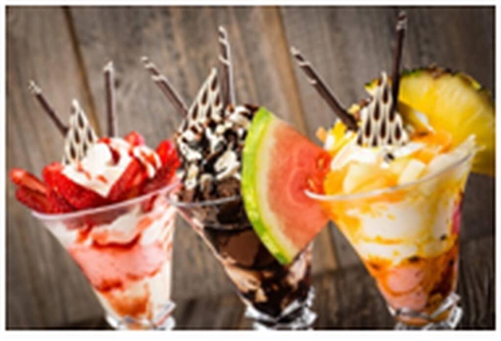 rodzaje lodów i przepisy na lodowe desery